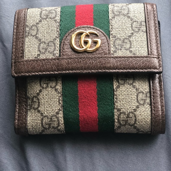 aa619abce477 Gucci Bags | Authentic Ophidia Gg French Flap Wallet | Poshmark